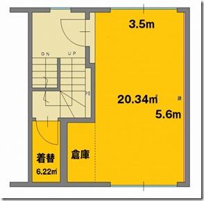 東京都 千代田区 神田 御茶ノ水レンタルスタジオ 間取り図