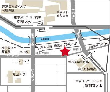 御茶ノ水 レンタルスタジオ の アクセス 詳細・地図のイメージ